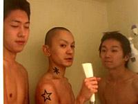 Ken, Hiromi and Jun
