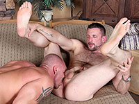 Morgan Black and Mitch Vaughn